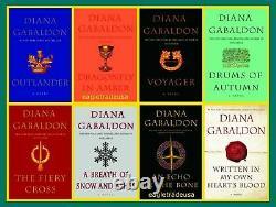Diana Gabaldon Outlander Complete Set 1-8 LARGE PAPERBACK Brand New