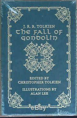 Easton Press The Fall of Gondolin JRR Tolkien Brand New SEALED