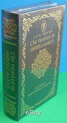 Easton Press The Peoples of Middle-Earth JRR Tolkien Brand New SEALED