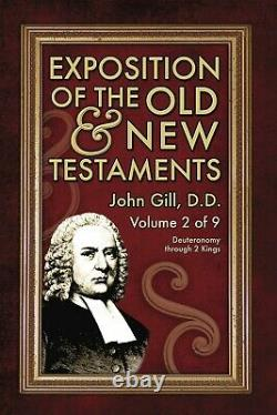Exposition of the Old & New Testaments John Gill NEW PRINTING BRAND NEW