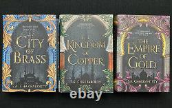 Fairyloot Brand New Unread City Of Brass Trilogy signed Exclusive Edition