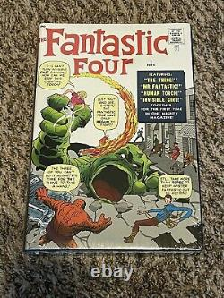 Fantastic Four Omnibus Vol 1 (2013, Jack Kirby Variant) Marvel Brand New