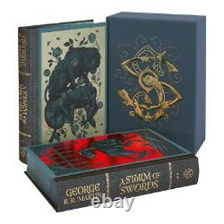 Folio Society A Storm of Swords, Brand New still in original packing