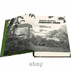 Folio Society Jurassic Park Michael Crichton BRAND NEW SEALED
