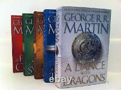 Game of Thrones Hardcover Collection Set George R. R. Martin Set 1-5! Brand New