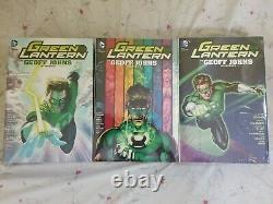 Green Lantern Omnibus Geoff Johns Vol 1-3 Full Set BRAND NEW SEALED