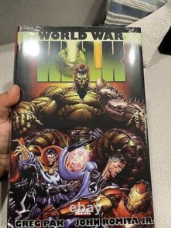 HULK World War Hulk Omnibus Greg Pak Marvel Comics Brand New Factory Sealed OOP