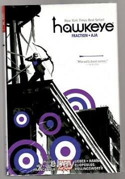 Hawkeye By Matt Fraction And David Aja Omnibus Hardcover Brand New / Sealed