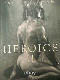 Heroics 2 Paul Freeman VERY RARE oop. Brand NEW, 2013 ADULT CONTENT