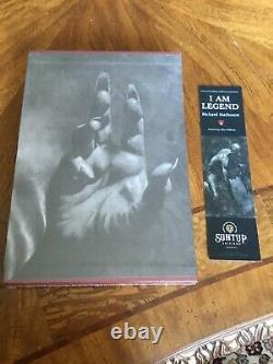 I Am Legend Richard Matheson Suntup Artist Signed Gift Edition Brand New OOP