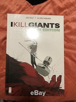 I KILL GIANTS Titan Edition (Brand new Hardcover HC Joe Kelly / Niimura)