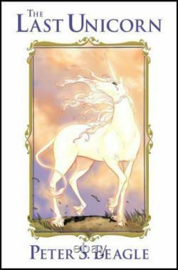 Idw The Last Unicorn Hardcover Brand New Condition Super Rare
