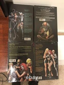Invisibles Grant Morrison Deluxe Edition Hardcover Vol 1-4 Brand New Sealed