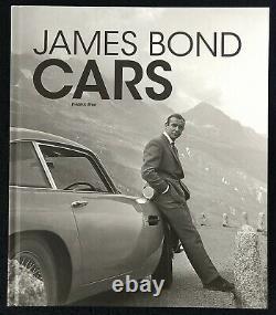 James Bond Cars by Frédéric Brun Hardcover 2015 BRAND NEW Rare