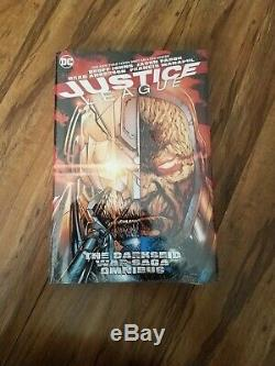 Justice League The Darkseid War Saga Omnibus DC Comics OOP Brand New Sealed