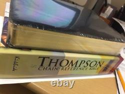 KJV Thompson Chain-Reference Bible Black Bonded Leather BRAND NEW