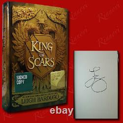 King of Scars SIGNED Leigh Bardugo (2019, HC, 1st) BRAND NEW