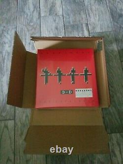 Kraftwerk 3-D The Catalogue Blu-ray 4-Discs + Hardcover Book BRAND NEW SEALED