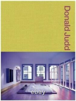 LAST ONE! Donald Judd Spaces Book Judd New York & Texas Brand New Sealed Copy