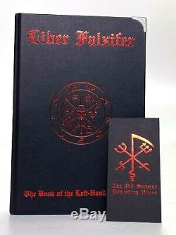 Liber Falxifer I 2nd Edition by N. A-A. 218, Ixaxaar, Satanic Hardcover, Brand New