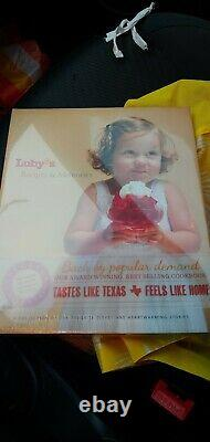 Luby's Recipes & Memories Cookbook (Special Edition) Hardcover BRAND NEW