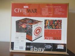 MARVEL CIVIL WAR BOX SET BRAND NEWSEALED Hardcover OOP