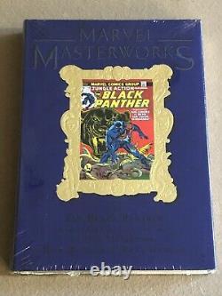 MARVEL MASTERWORKS # 141 Gold Embossed VARIANT Black Panther BRAND NEW HC