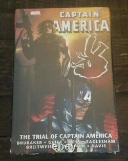 MARVEL The Trial of Captain America Omnibus Brand New Factory Sealed