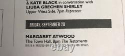 Margaret Atwood Signedthe Testamentshcdj 1st/1st Winner Of The Booker Prize