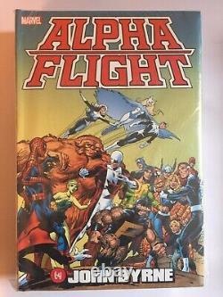Marvel Alpha Flight Omnibus John Byrne, Brand New, Sealed