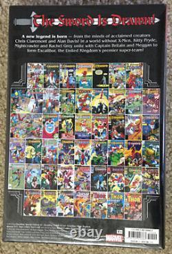 Marvel Comics Excalibur Omnibus Vol 1 HC OOP Omnibus Brand New & Sealed