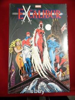 Marvel Comics Excalibur Omnibus Vol 1 HC Omnibus Brand New Factory Sealed