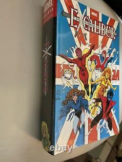 Marvel Excalibur Omnibus Vol. 1 Brand New Sealed HC DM Cover
