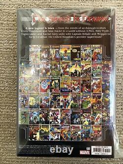 Marvel Excalibur Omnibus Vol. 1 Brand New Sealed HC DM Cover Dinged Corner