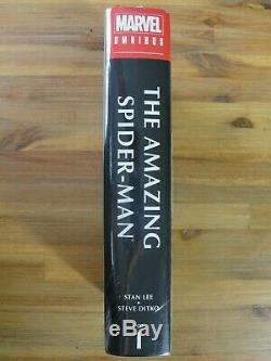 Marvel THE AMAZING SPIDER-MAN Omnibus Vol. 1 Brand New Stan Lee Steve Ditko