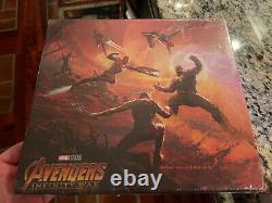 Marvel's Avengers Infinity War The Art of Marvel Book Brand New In plastic