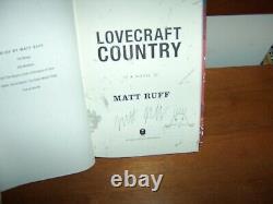 Matt Ruff Lovecraft Country Signed 1st/4th Hc/dj Brand New