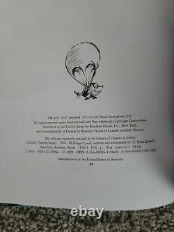 Mcelligot's pool BRAND NEW ORIGINAL Hardcover book by Dr Suess