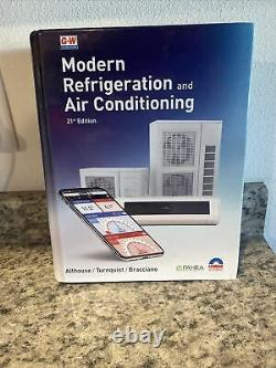 Modern Refrigeration and Air Conditioning 21st Edition BRAND NEW