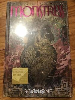 Monstress Book One SIGNED Marjorie Liu (2019, HC, 1st/1st) BRAND NEW SEALED
