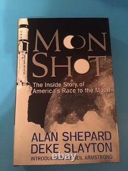 Moon Shot First Edition Autographed Signed By Alan Shepard Mint Brand New