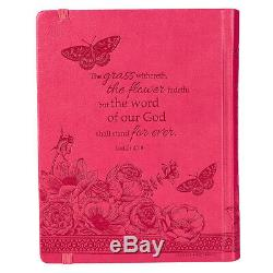 My Creative Bible Pink LuxLeather Hardcover KJV HOLY BIBLE BRAND NEW