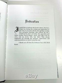 Necromantic Sorcery The Forbidden Rites of Death by Dante Abiel, Brand New Rare