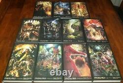 Overlord Light Novel 11 Volumes English, Hardcover Brand New 1-12 (no 4) Manga