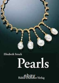 Pearls by Elisabeth Strack Hardcover Book Brand new in Plastic Wrap
