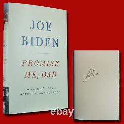 Promise Me, Dad by Joe Biden (2017, HC, 1st/1st) SIGNED BRAND NEW