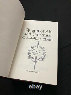 Queen of Air and Darkness Cassandra Clare Waterstones Unread Brand New Exclusive