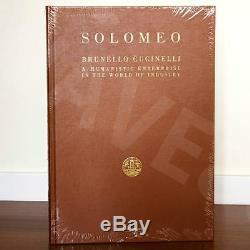 RARE Brunello Cucinelli new brand book sealed A HUMANISTIC ENTERPRISE collectors