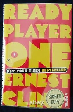 READY PLAYER ONE by Ernest Cline HC Signed 1st/1st BRAND NEW