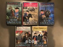 RUSH REVERE 5 Volume Complete Set Collection Rush Limbaugh BRAND NEW